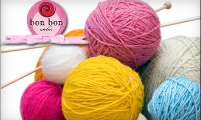 bon bon atelier - Old Westport: $15 for $30 Worth of Sewing, Knitting & Other Classes from Bon Bon Atelier