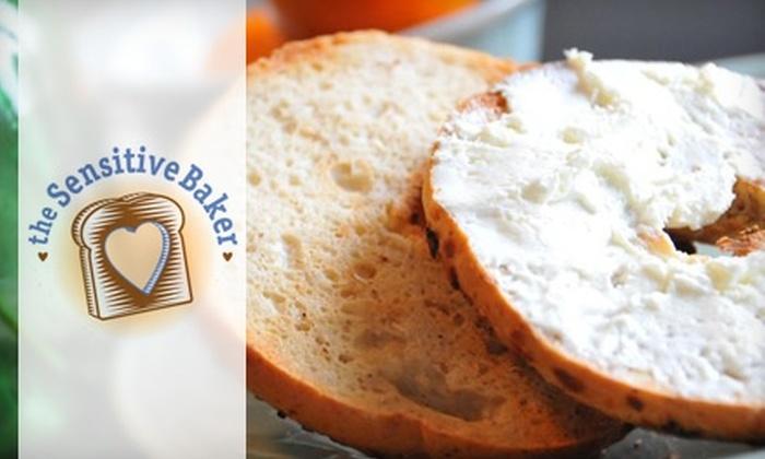 The Sensitive Baker - Washington Culver: $6 for a Half-Dozen Gluten-Free Bagels at The Sensitive Baker in Culver City
