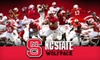 NC State Football - Multiple Locations: Two Tickets to an NC State Football Game (Up to $104 Value). Choose Between Two Games.