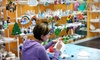 Painting Fun Spot - Fort Wayne: Paint-and-Take Plaster Pottery or a Canvas Art Class at Painting Fun Spot (Up to 52% Off). Three Options Available.