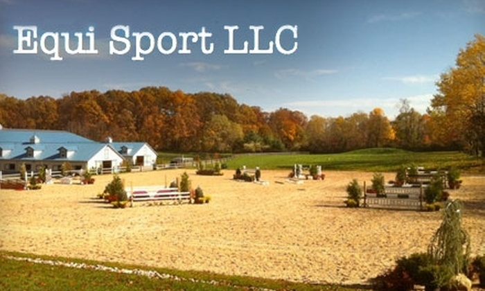 Equi Sport - Union: $30 for One-Hour Private Horse-Riding Lesson at Equi Sport ($65 Value)