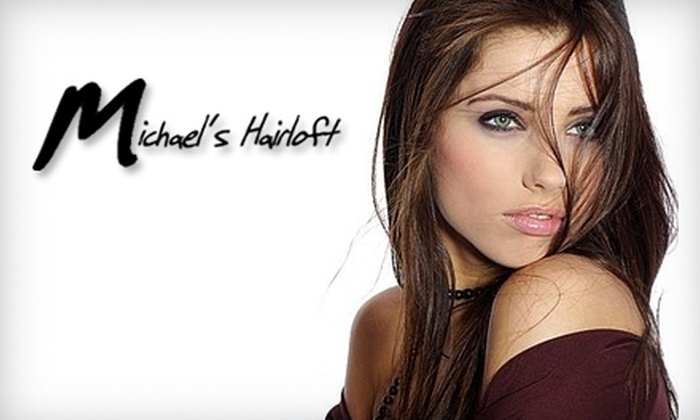 Michael's Hairloft - Coraopolis: Hair, Massage, or Tanning Services at Michael's Hairloft Spa & Tanning. Choose from Three Options.