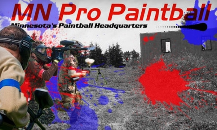 MN Pro Paintball - New Market: $17 Admission for One with Equipment Rental, Field Time, and 200 Paintballs at MN Pro Paintball