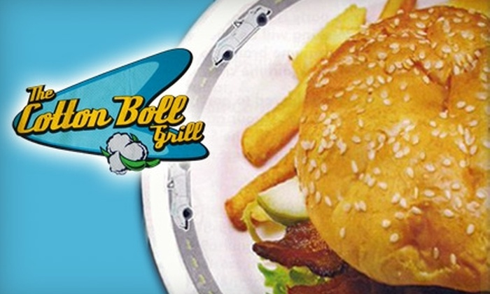 The Cotton Boll Grill - Multiple Locations: $5 for $10 Worth of Down-Home Eats at The Cotton Boll Grill