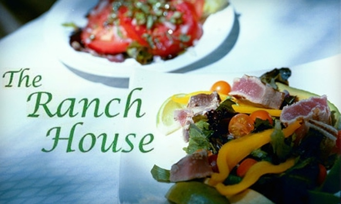 The Ranch House - Meiners Oaks-Ojai: $25 for $50 Worth of Contemporary American Fare and Drinks at The Ranch House