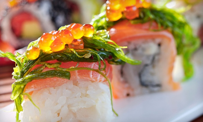Zen Cafe - Core-Columbia: $19 for $40 Worth of Sushi and Drinks at Zen Cafe