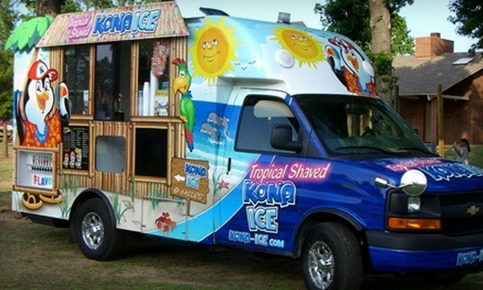Kona Ice Of Shreveport Bossier In Shreveport Bossier Groupon