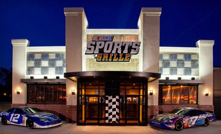 $30 Groupon to NASCAR Sports Grille - NASCAR Sports Grille in Hampton