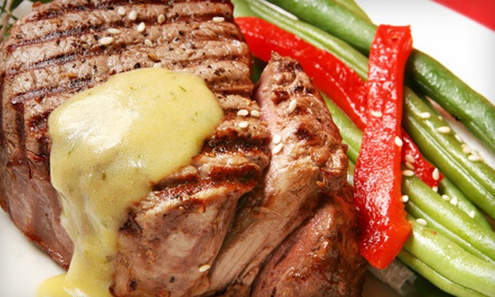Paws Restaurant - Aurora: $20 for Dinner for Two at Paws Restaurant in Aurora (Up to $43.50 Value)