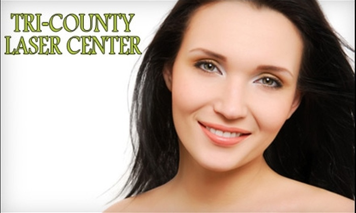 Tri-County Laser Center - North Charleston: Laser Skin Rejuvenation and Hair-Removal Treatments at Tri-County Laser Center in North Charleston. Choose Between Two Options.