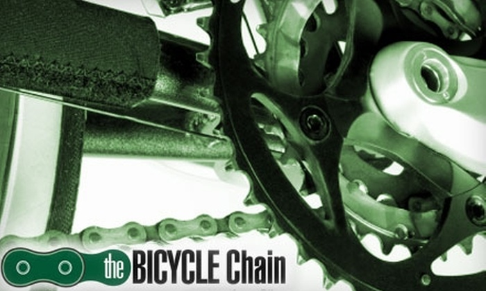Bicycle Chain - Multiple Locations: $45 for a Bicycle Tune-Up at The Bicycle Chain ($100 Value)