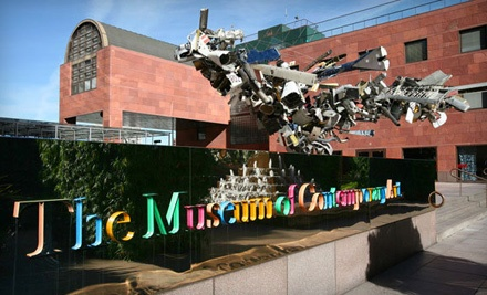 2 Admission Tickets - The Museum of Contemporary Art in Los Angeles