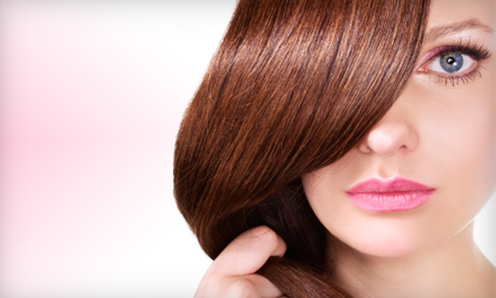 Adorn Hair Salon - Chesterfield: $139 for Keratin Complex Smoothing Treatment with Haircut and Keratin Shampoo-and-Conditioner Treatment at Adorn Hair Salon in Chesterfield ($350 Value)