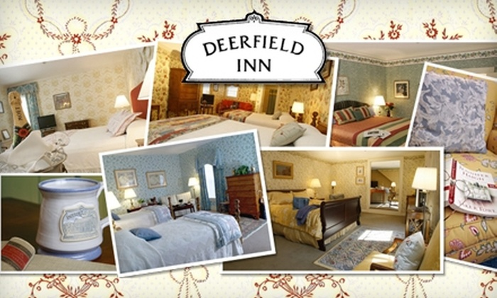 Deerfield Inn - Deerfield: $110 for One-Night Stay at Deerfield Inn Plus a $25 Dining Credit at Champney's Restaurant & Tavern in Deerfield (Up to $215 Value)