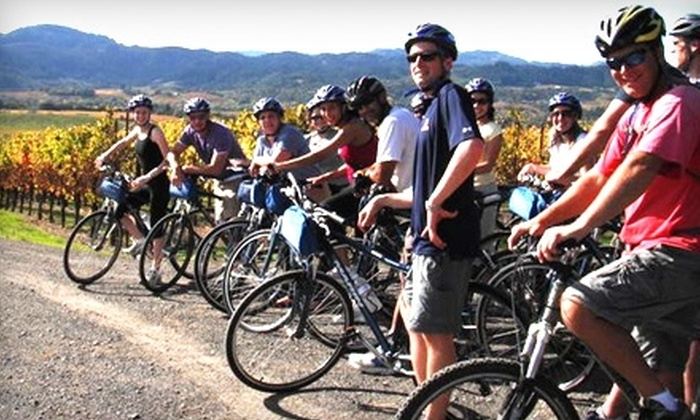 Getaway Adventures - Multiple Locations: $149 for Sip 'N Cycle Bike Tour for Two from Getaway Adventures ($298 Value)