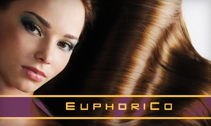 EuphoriCo Salon - Belltown: Haircut, Facial, Organic Shampoo, and More at EuphoriCo. Two Options Available.