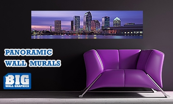 Larger Than Life Prints - Tampa Bay Area: $35 for a Panoramic Wall Mural from Larger Than Life Prints
