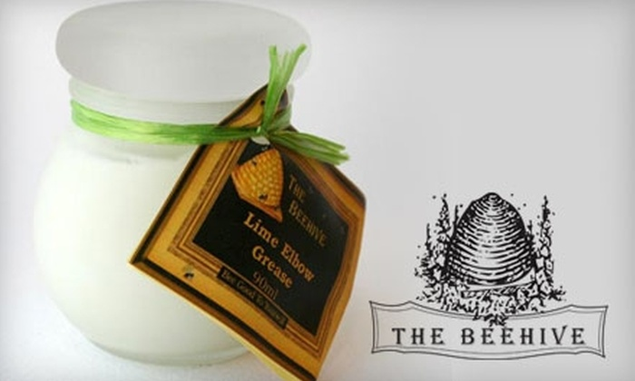 The Beehive - Sunnyside: $20 for $40 Worth of Candles, Soaps, and More at The Beehive