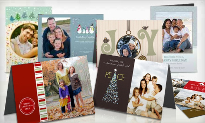 Picaboo - Pike Place  Market: Customized Holiday Cards from Picaboo (Up to 67% Off)