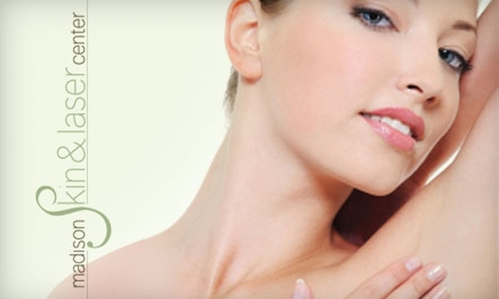 Madison Skin & Laser Center - New York City: $130 for Three Laser Hair-Removal Treatments at Madison Skin & Laser Center in Midtown (Up to $600 Value)