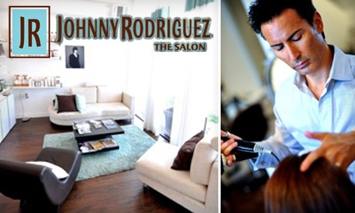 Johnny Rodriguez The Salon - Bluffview: $40 for $100 Worth of Hair-Care Services at Johnny Rodriguez The Salon