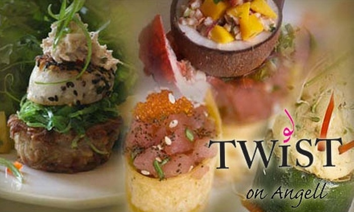 Twist on Angell - Wayland: $20 for $40 Worth of Bistro Fare and Drinks at Twist on Angell