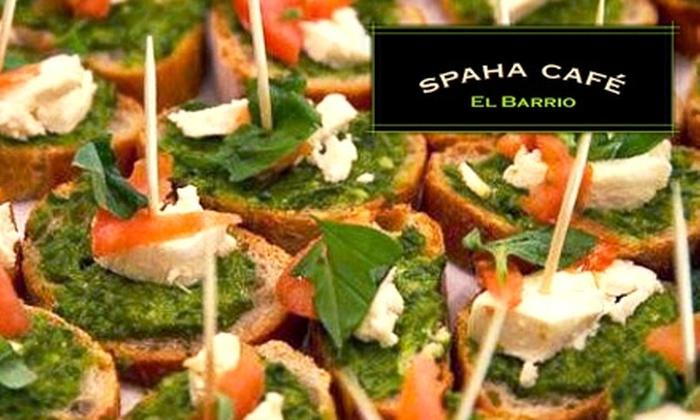 SpaHa Café - East Harlem: $5 for $10 Worth of Healthy Cuisine at SpaHa Café