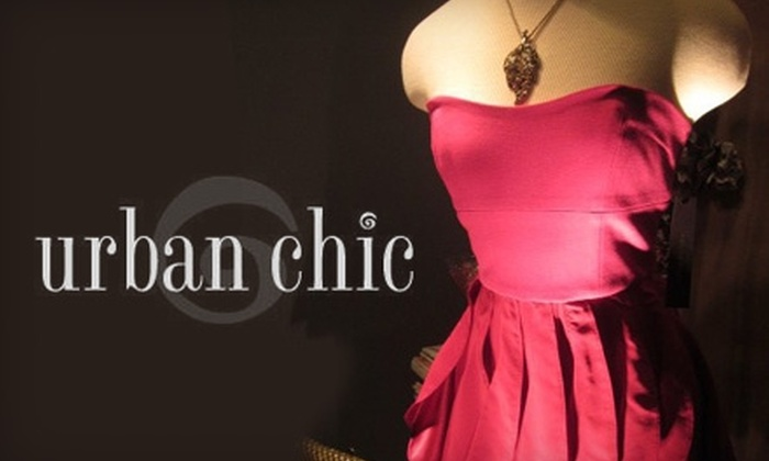 Urban Chic - Little Italy: $25 for $75 Worth of Designer Clothing at Urban Chic