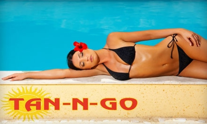 Tan-N-Go - Multiple Locations: $30 for $60 Worth of Tanning Services at Tan-N-Go