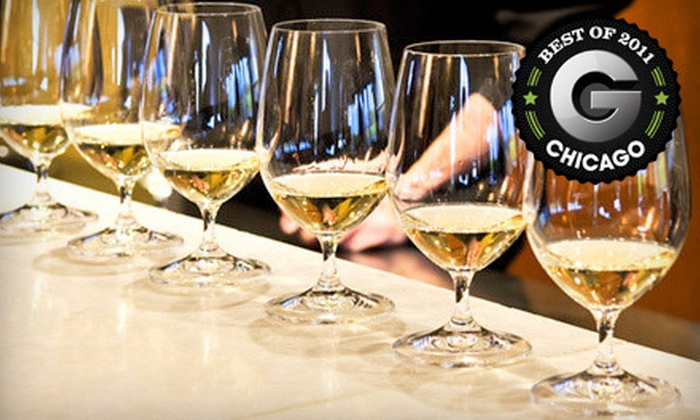Fontana Grill & Wine Bar - Uptown: $15 for Wine Flights for Two with Appetizer at Fontana Grill & Wine Bar (Up to $30.95 Value)