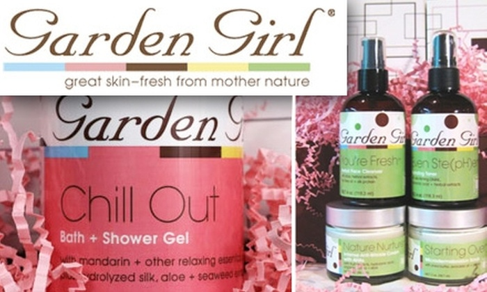 Garden Girl Skin Care - Boston: $25 for $50 Worth of Natural Skin Care Products From Garden Girl Skincare