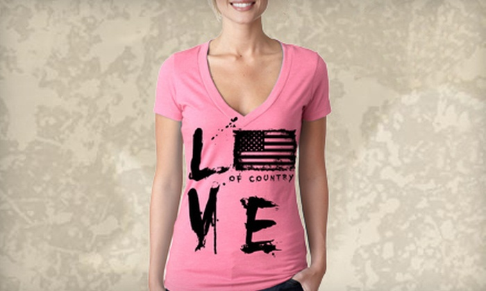 Grunt Style: $15 for $30 Worth of Patriotic and Military-Inspired Apparel from Grunt Style