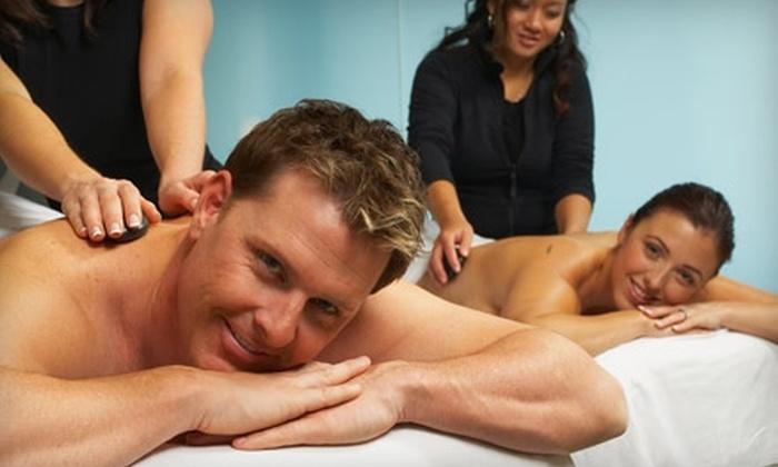 Serenity Healing Arts Center - Greenville: $75 for Romantic Interlude Couple's Massage at Serenity Healing Arts Center ($150 value)