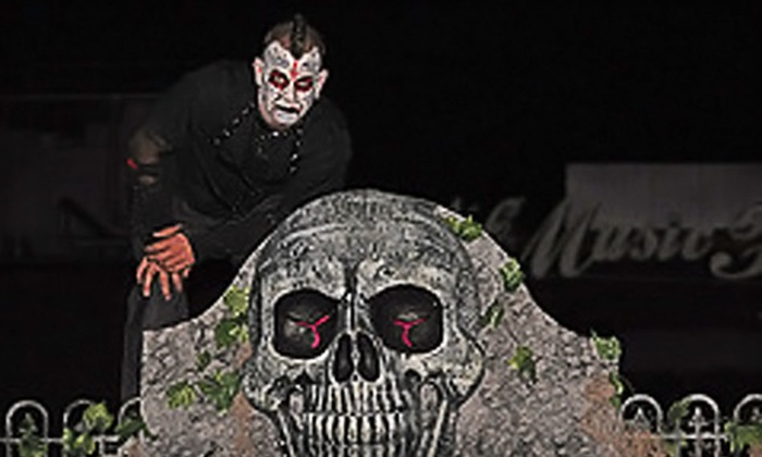 NC Fright Factory - Lockwood: One Ticket to NC Fright Factory Haunted House or One Ticket to NC Fright Factory Haunted House and The Comedy Zone at NC Music Factory