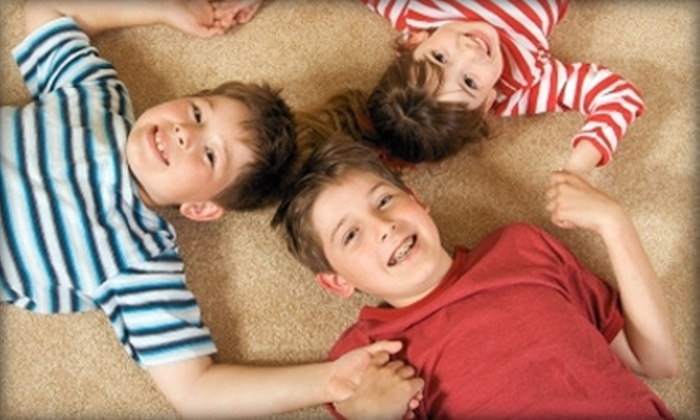 Baby Safe Carpet Cleaning - Downtown Dallas: $45 for Four Rooms of Carpet Cleaning from Baby Safe Carpet Cleaning ($100 Value)