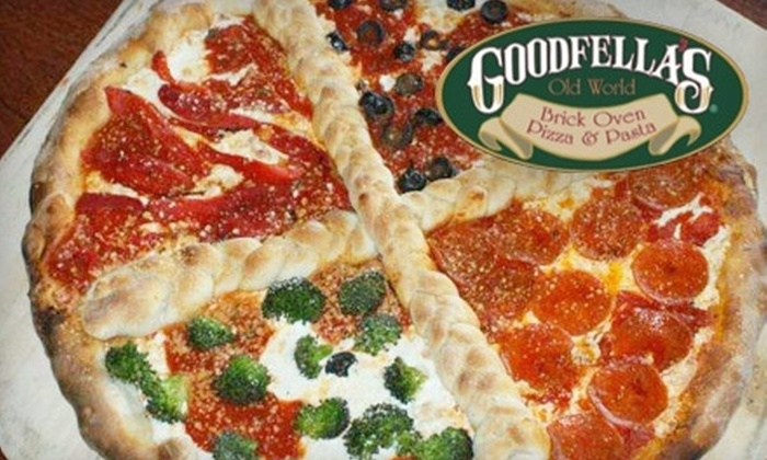 Goodfella's Brick Oven Pizza & Pasta - South Beach / Old Town: $10 for $20 Worth of Pizza and More at Goodfella's Brick Oven Pizza & Pasta in Staten Island