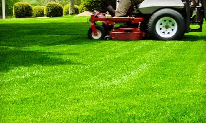Bush Enterprises - Multiple Locations: $150 for Lawn Mowing, Gutter Cleaning, and Spring Clean-Up from Bush Enterprises (Up to $300 Value)