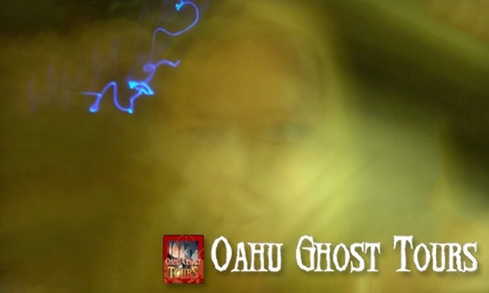 Oahu Ghost Tours - Honolulu: $17 for Honolulu City Haunts Walking Tour from Oahu Ghost Tours (Up to $34 Value)