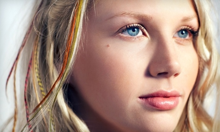 Mermaid Hair Extensions - Market: $15 for $30 Worth of Feather Hair Extensions at Mermaid Hair Extensions in Kirkland