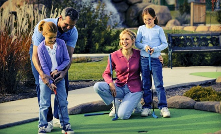 Two Rounds of Mini Golf for Two People (a $24 value) - Goony Golf in Spring Lake Park