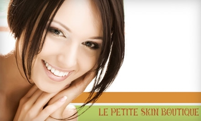 Le Petite Skin Boutique - Clayton: $29 for a 75-Minute Deep Pore Facial at Le Petite Skin Boutique in Clayton