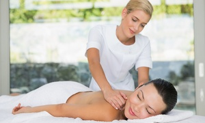 Ederra hair & beauty salon: Choice of Full-Body Massage with Optional Facial at Ederra Hair & Beauty Salon (Up to 50% Off)