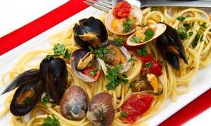 Borgo di Mare: Pranzo o cena di pesce con 4 portate e vino (sconto fino a 74%)