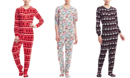 René Rofé Footloose Footed Pajamas | Brought to You by ideel