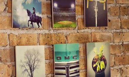 Custom Instagram or Uploaded Digital Photo Wood Prints from InstaThis (Up to 53% Off)
