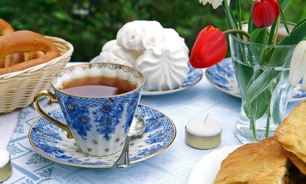 Up to 50% Off  Tea, Savories, and Sweets at The Garden Tea Room - Westcliffe