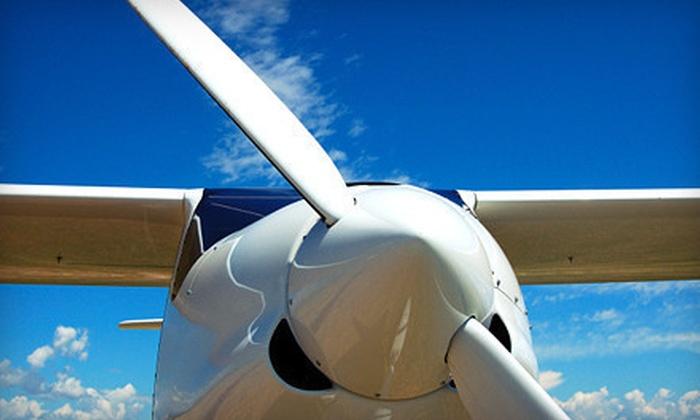 Riverside Flight School - Riverside Airport: $69 for Discovery Flight Experience at Riverside Flight School ($139 Value)