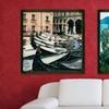 $49 for a Framed Vintage-Style European Landscapes