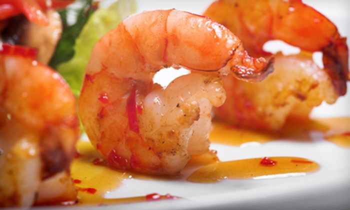 Saffron Restaurant - Howard Beach: Tapas Dinner with Sangria for Two at Saffron Restaurant in Queens (Up to $76 Value)
