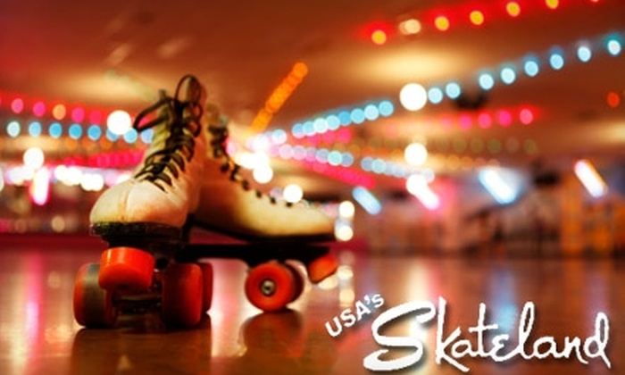 Skateland & Great Skate Glendale - Heritage Park Neighborhood: $12 for Admission and Skate Rental for Two with Two Large Sodas at USA's The Great Skate Glendale or at Skateland's Chandler or Mesa Locations (Up to $34 Value)